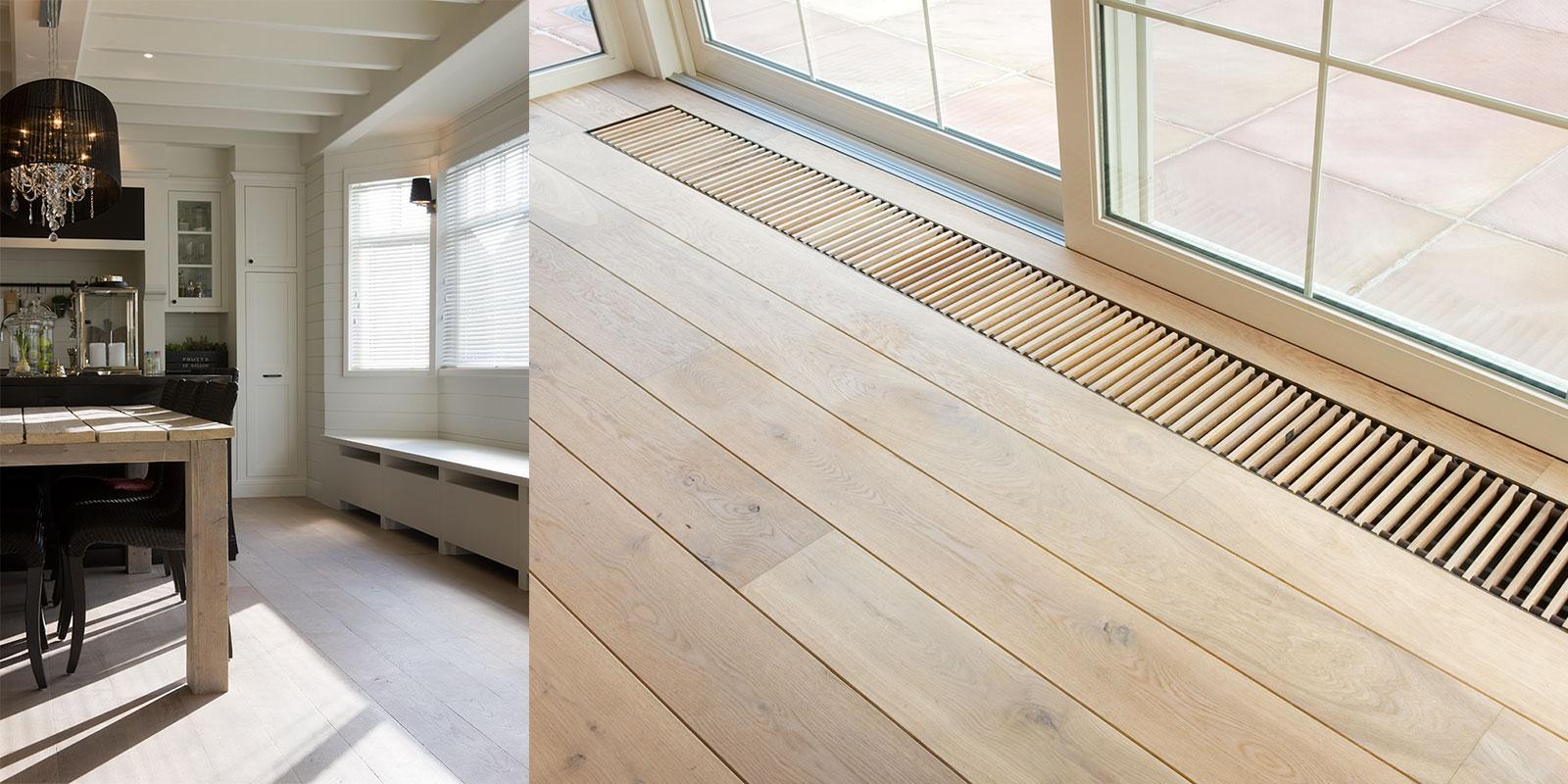 moderne vloeren gehoor geven aan uw huis